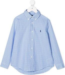 Koszula dziecięca POLO RALPH LAUREN z bawełny dla chłopców w krateczkę