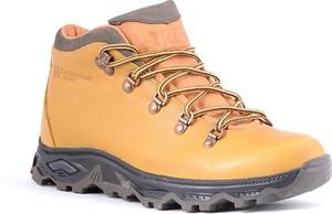 Żółte buty trekkingowe Trek