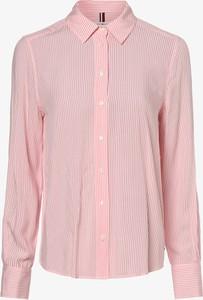 Różowa koszula Tommy Hilfiger z długim rękawem
