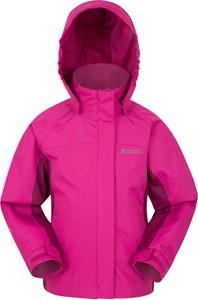 Różowa kurtka dziecięca Mountain Warehouse z plaru
