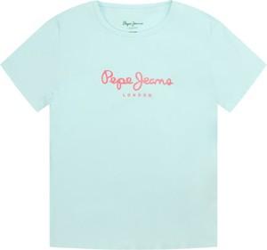 Niebieska koszulka dziecięca Pepe Jeans