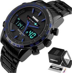 Zegarek MĘSKI SKMEI 1131 niebieski TACHOMETR LED
