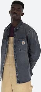 Czarna koszula Carhartt WIP z klasycznym kołnierzykiem