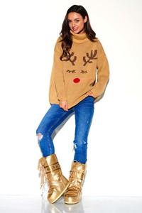 Sweter Lemoniade w bożonarodzeniowy wzór