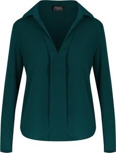 Zielona bluzka Figl w stylu casual