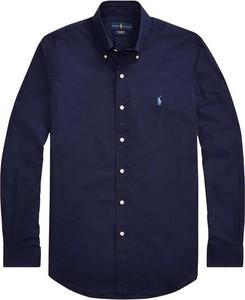 Niebieska koszula Ralph Lauren w stylu casual