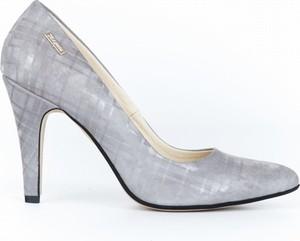 Szpilki Zapato ze skóry w stylu klasycznym z nadrukiem