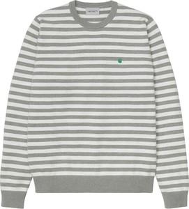 Sweter Carhartt WIP w młodzieżowym stylu z okrągłym dekoltem
