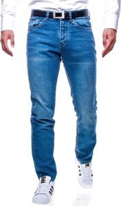 Niebieskie jeansy Recea