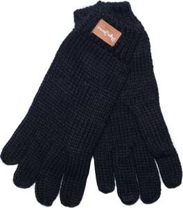 Granatowe rękawiczki Pepe Jeans
