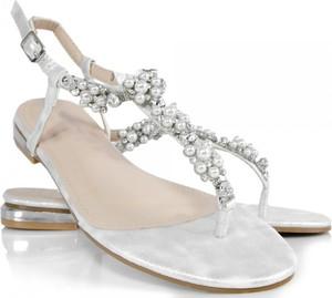 Srebrne sandały Wilady