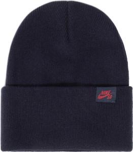Granatowa czapka Nike