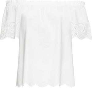 Bluzka bonprix BODYFLIRT z krótkim rękawem w stylu boho hiszpanka
