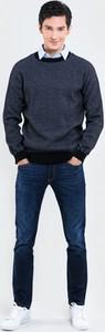 Niebieski sweter Big Star w stylu casual