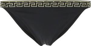 Czarny strój kąpielowy Versace