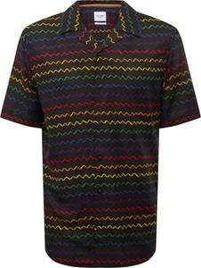 Koszula Only & Sons z nadrukiem z klasycznym kołnierzykiem z krótkim rękawem