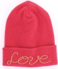 Różowa czapka Vicolo