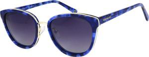 Niebieskie okulary damskie Vermari