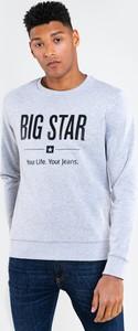 Bluza Big Star w młodzieżowym stylu z nadrukiem
