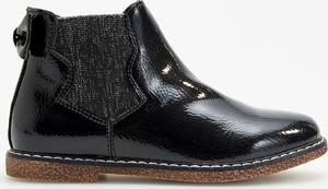 b6b6cab4114e1 Sztyblety. Czarne buty dziecięce zimowe Reserved na zamek