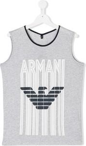 Koszulka dziecięca Emporio Armani Kids z bawełny