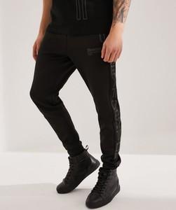 Czarne spodnie sportowe DiverseExtreme z dresówki