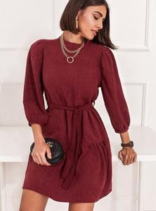 Czerwona sukienka SELFIEROOM