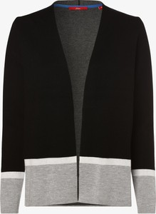 Czarny sweter S.Oliver w stylu casual