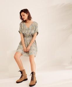 Sukienka Diverse z krótkim rękawem w stylu casual mini