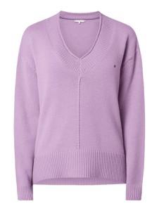 Fioletowy sweter Tommy Hilfiger w stylu casual