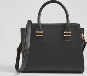 Czarna torebka Sinsay do ręki duża