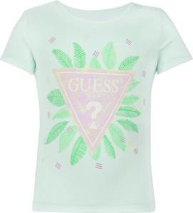 Koszulka dziecięca Guess Jeans z krótkim rękawem