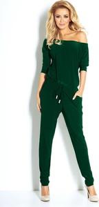 Zielony kombinezon NUMOCO z długimi nogawkami