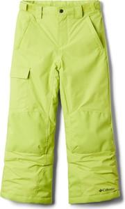 Zielone spodnie dziecięce Columbia