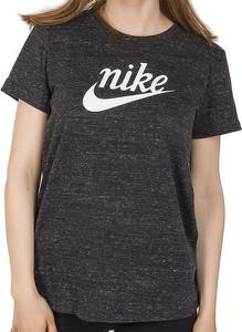 Bluzka Nike z bawełny z krótkim rękawem w sportowym stylu