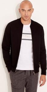 Czarna bluza Diverse w stylu casual