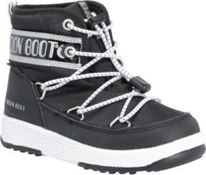 Buty dziecięce zimowe Moon Boot sznurowane