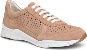 Buty sportowe Geox sznurowane