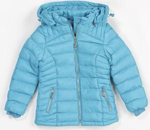 Niebieska kurtka dziecięca born2be