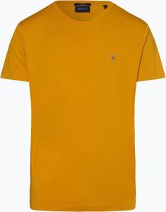 Pomarańczowy t-shirt Gant