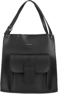 918edc9dc8872 Czarna torebka Mb Classic Bag na ramię w stylu casual duża
