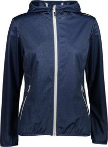 Granatowa kurtka CMP z tkaniny w stylu casual krótka