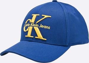 Niebieska czapka Calvin Klein Jeans