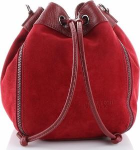 Czerwona torebka VITTORIA GOTTI