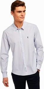Koszula Polo Club z długim rękawem z bawełny