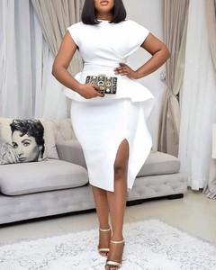 Sukienka Kendallme z krótkim rękawem z bawełny