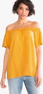 T-shirt YESSICA w stylu casual z bawełny