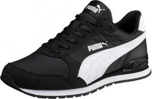 Czarne buty Puma sznurowane