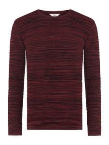 Sweter Solid w stylu casual z bawełny