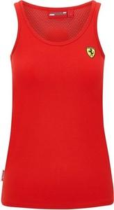T-shirt Scuderia Ferrari F1 Team z bawełny